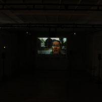 Margarete Huber Wege nach Hellerau Sprach-Video-Komposition UA Festspielhaus Hellerau