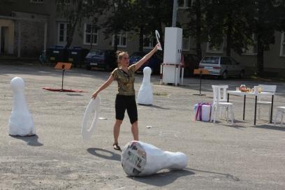 Margarete Huber in Utopia 100 Festspielhaus Hellerau