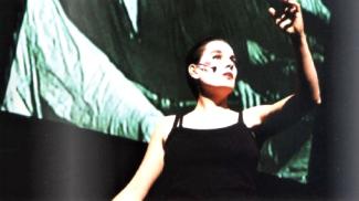 """Margarete Huber in Oper """"L´homme maschine"""", Schloßtheater Rheinsberg"""