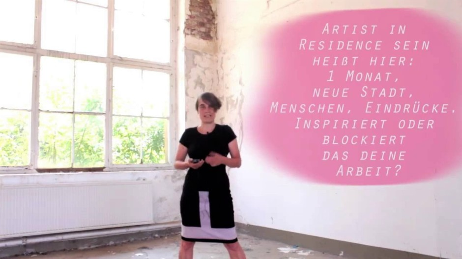 margarete huber stipendium kunstfestival begehungen chemnitz